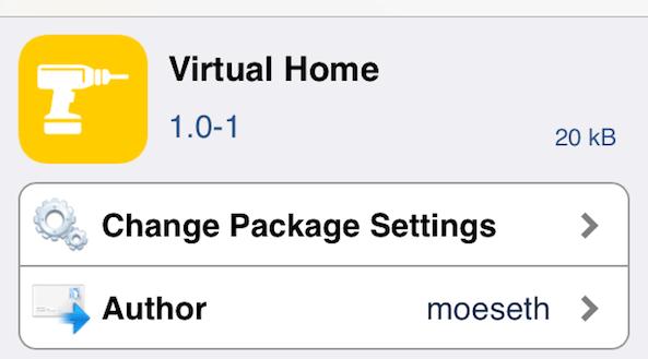 iPhone 5S Virtual Home 2