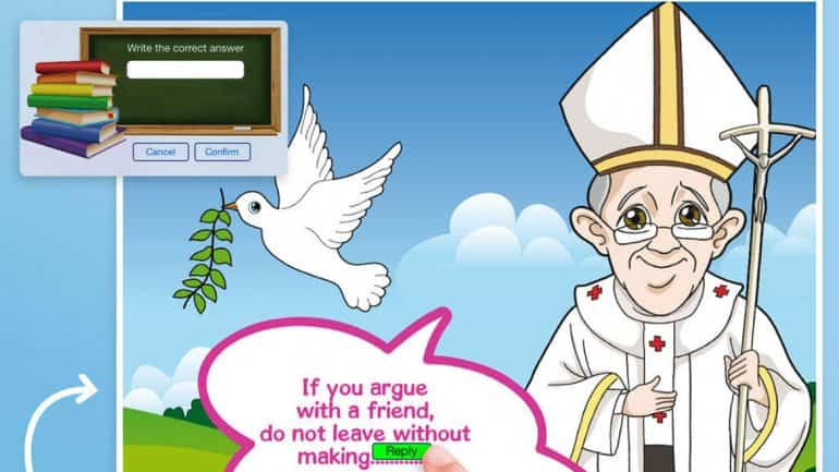 Apple comics Papa Francisco 2