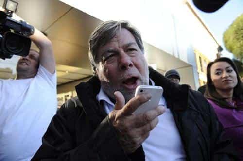 Steve Wozniak quiere un iPhone con Android 2