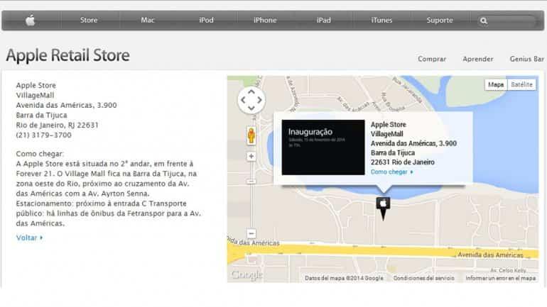 Tiendas Apple Brasil 1