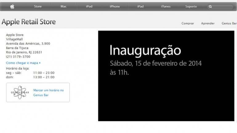 Tiendas Apple Brasil 2