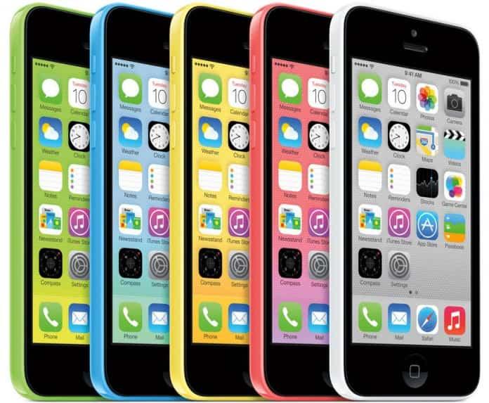Apple y su excedente de iPhone 5C 2