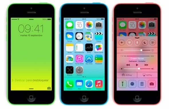 iPhone nano Apple 2