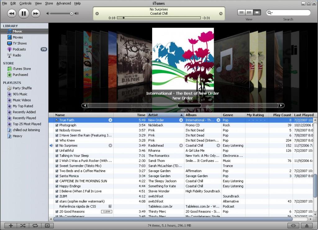 iTunes musica 2
