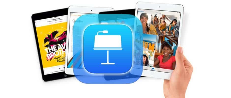 Presentaciones iPad 1