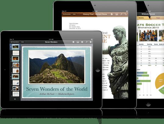 Presentaciones iPad 2