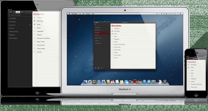 Recordatorios por atajos en Mac OS X 2