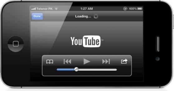 YouTube iOS 1