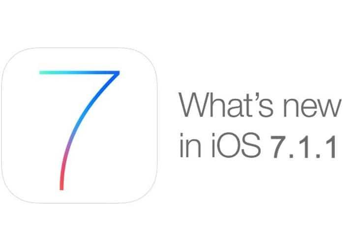 iOS 7.1.1 1