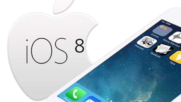 iOS 8 2 de junio 1