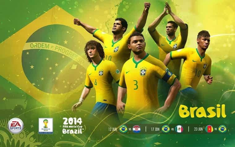 FIFA 2014 EA Sports Brazil iOS 1