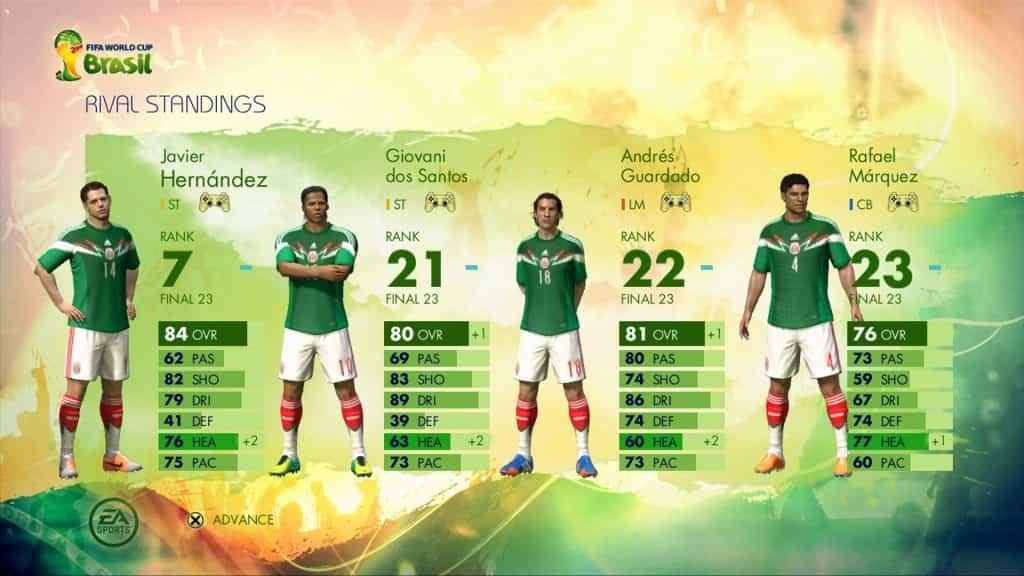 FIFA 2014 EA Sports Brazil iOS 2