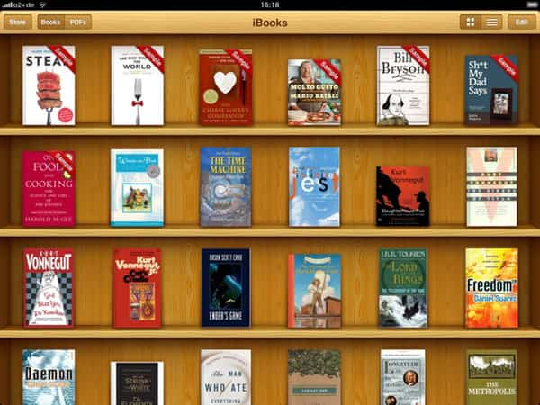leer libros ePub en un iPhone o iPad 2