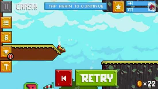 Retry, el clon de Flappy Bird de Rovio 2