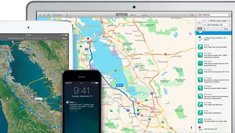 Apple Maps iOS 8 2