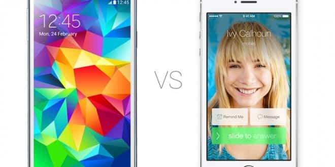El Galaxy S5, detrás en venta del iPhone 5s y iPhone 5c 2