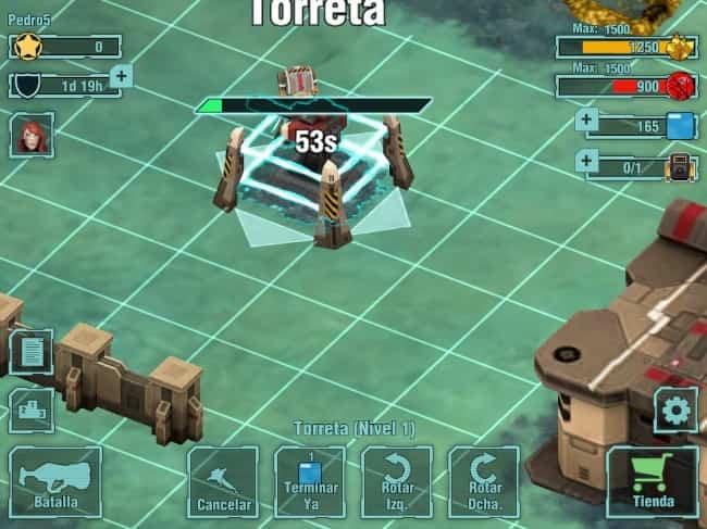 Tactical Heroes, estrategia por turnos futurista en iOS 2