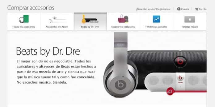 Beats ya tiene su propia sección en la Apple Store 2