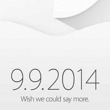 Apple confirma su evento para el 9 de septiembre