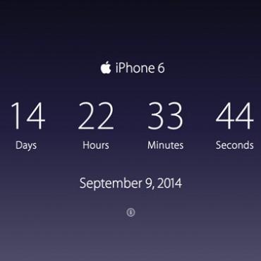 AppleTimer: ¿cuánto falta para el iPhone 6 y el iWatch?