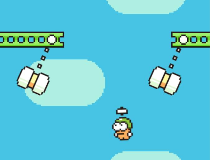 Swing Copters ¡Trailer del sucesor de Flappy Bird! 2