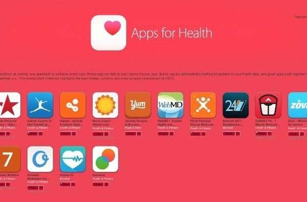 Apple da lugar a las apps de salud en su tienda