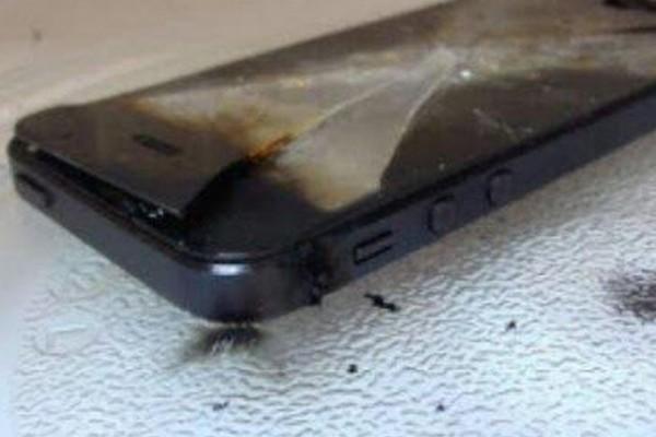 Usuarios queman su iPhone 6 al cargarlos en microondas