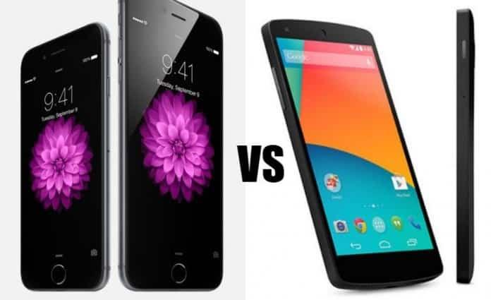 El Nexus 6 será rival directo del iPhone 6 Plus 2