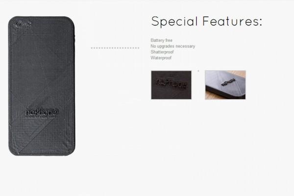 NoPhone: el rival del iPhone 6 que nos devuelve a la vida