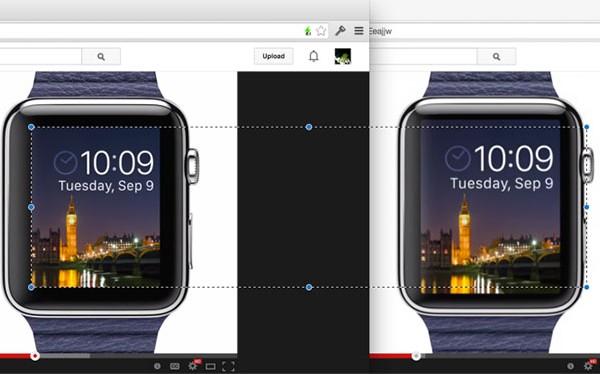 Apple Watch tendría una pantalla más chica de lo previsto