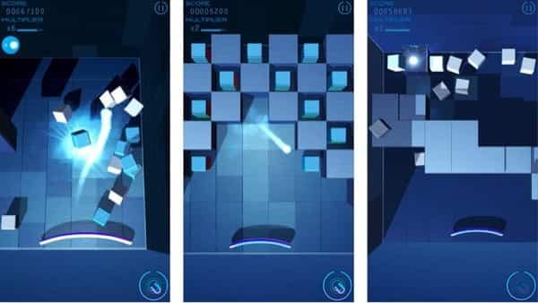 Grey Cubes, el arkanoid del futuro 2