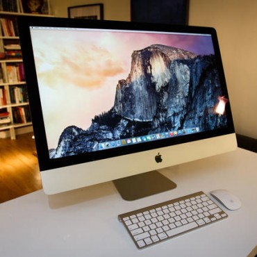 Apple presentó el iMac Retina 5K