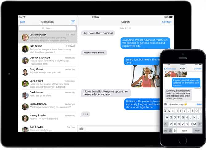 Apple permitirá eliminar iMessage de los iPhone robados 2