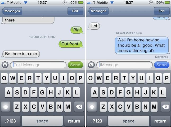 iMessage ¿por qué no triunfa el mensajero de Apple? 2