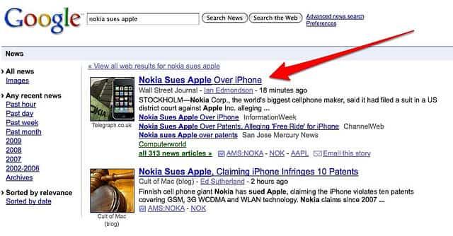Google podría dejar de ser el buscador por defecto de Apple 2