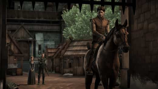 Game of Thrones de Telltale Games en iPad 2