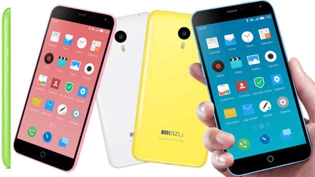 Meizu m1 note, la copia china del iPhone 5c 2