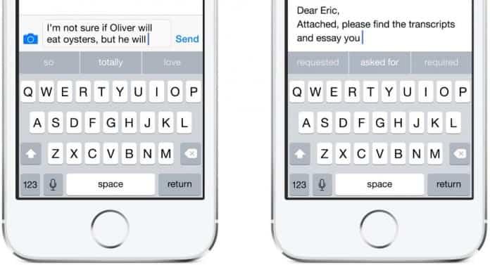 Instalar y desinstalar teclados de terceros en iOS 8 2