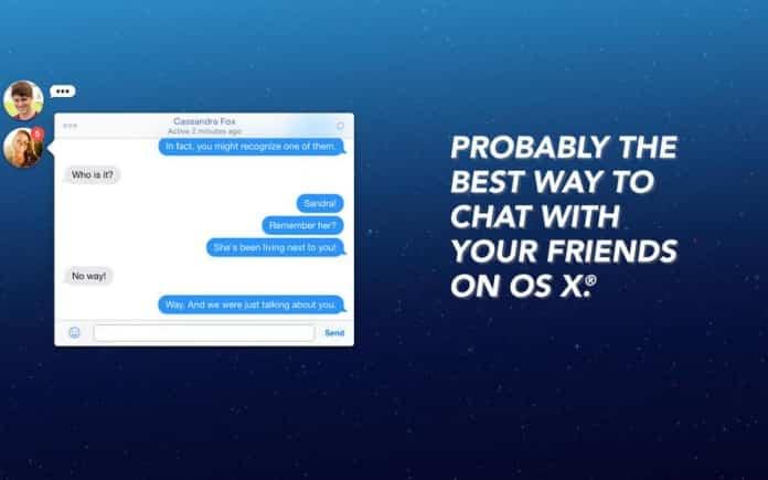 Facebook Chat Heads: excelente aplicación para OS X 2