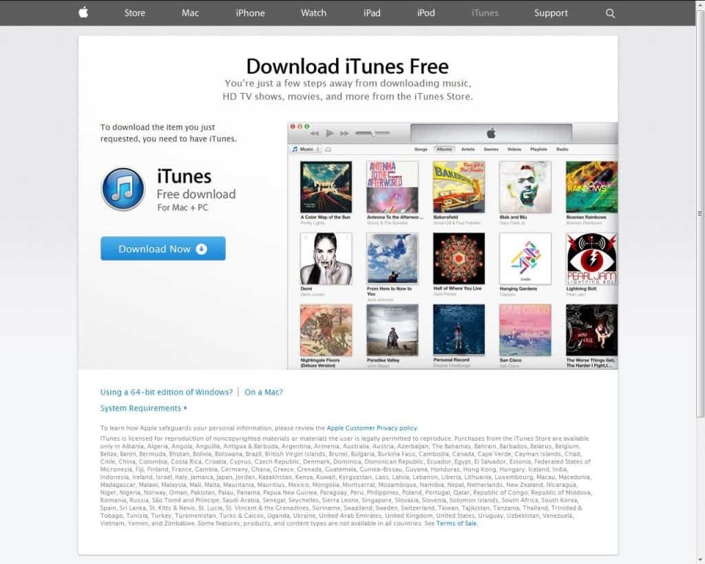 Free on iTunes Apple