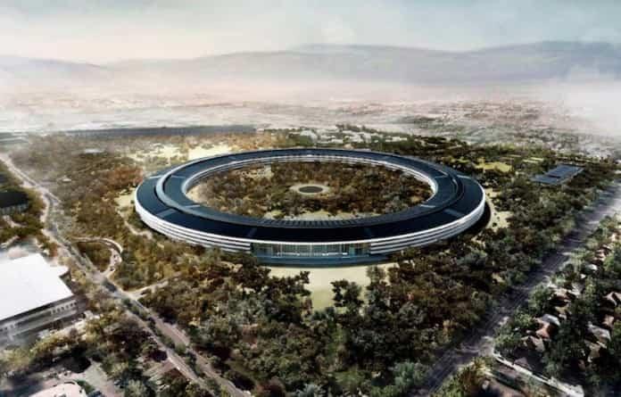 Nueva sede de Apple: un drone nos muestra cómo está hoy 2