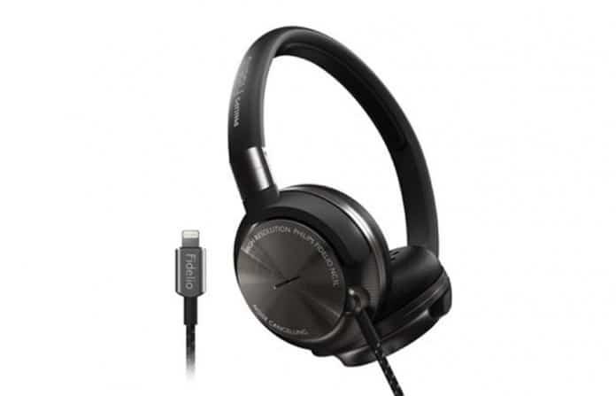 Nuevos auriculares Fidelio de Philips con puerto Lightning 2