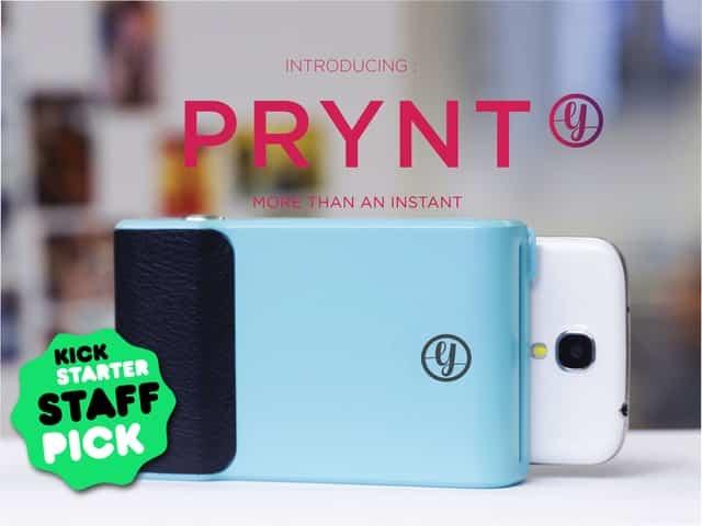 Prynt, la iniciativa de Kickstarter para imprimir fotos 2