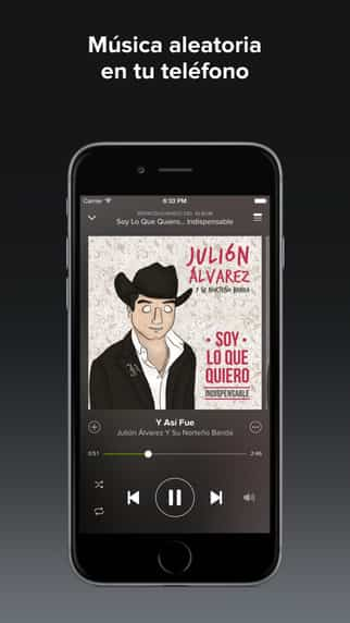 Spotify se actualiza con preview en un toque 2
