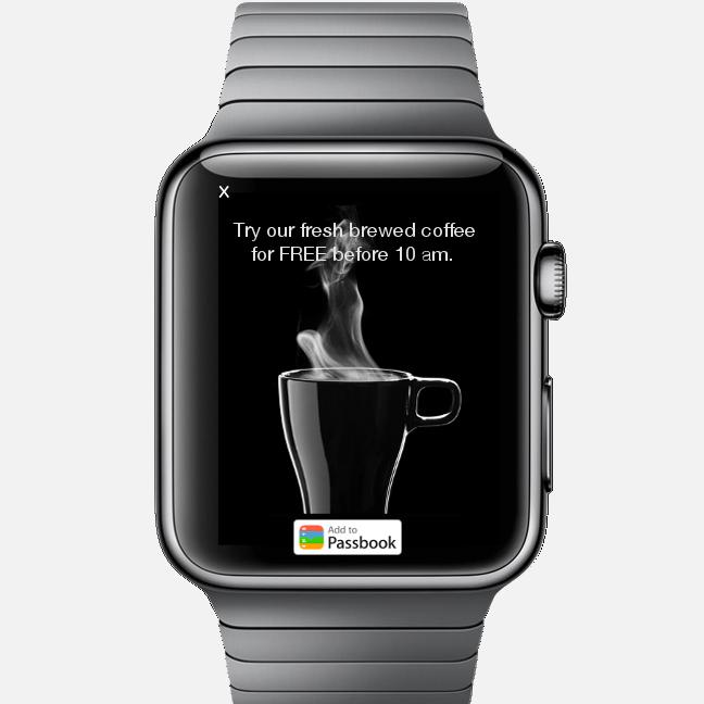 Apple Watch y la publicidad contextual de TapSense 2
