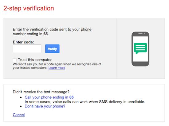 OS X Yosemite recibirá verificación en dos pasos de Google 2