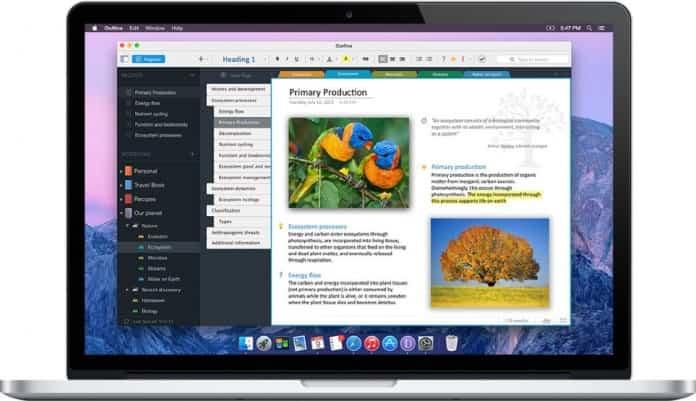 Outline para Mac, toma tus notas de forma inteligente 2