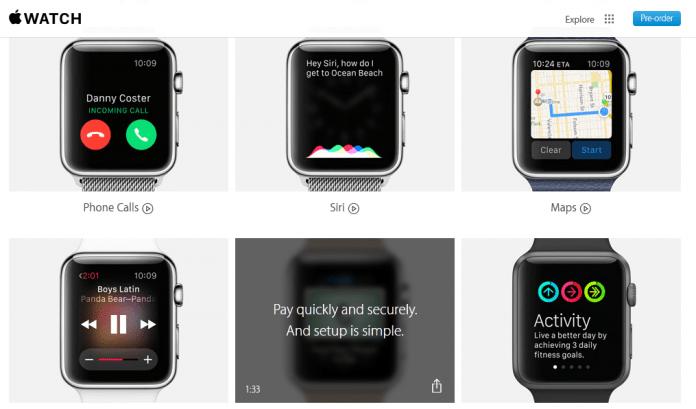 Activan la tienda de Apple Watch y otras novedades 2