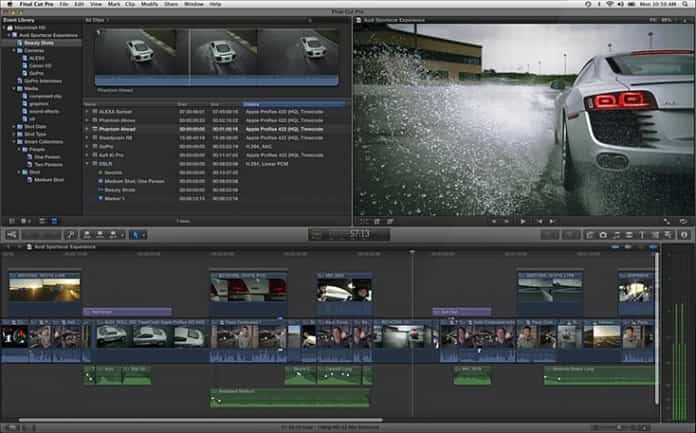Apple actualiza Final Cut Pro, Motion y Compressor 2