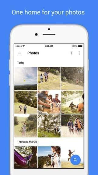 Google Fotos Apple Fotos 1